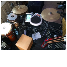 Mein Percussion Set-Up